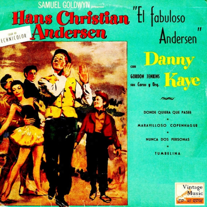 """""""vintage Movies N⺠8 - Eps Collectors O.s.t: """"""""el Fabuloso Andersen"""""""" """"""""hans Christian Andersen"""""""