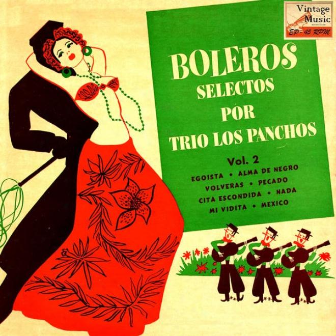 """""""vintate Mã©xico N⺠87 - Eps Collectors """"""""boleros Selectos Por Trio Los Pancuos"""""""