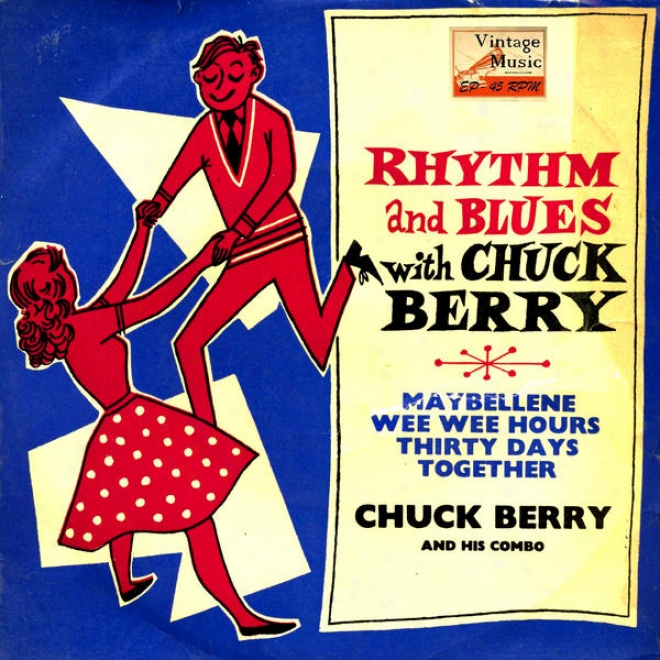 """vintage Rock N⺠18 - Eps Collectors """"rhythm And Blues Witch Chuck Berry"""