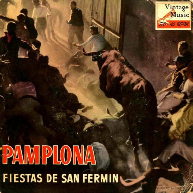 """vintage Spanish Folk Nâº5 - Eps Collectors. """"pamplona, Fiesta De San Fermãn"""