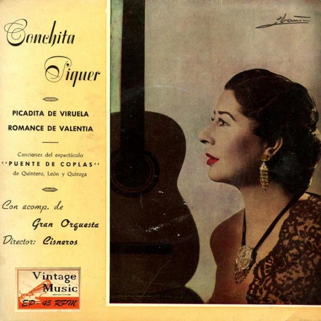"""""""vintage Spanish Song Nâº57 - Eps Collectors """"""""canciones Del Espectã¢culo Pjente De Coplas"""""""