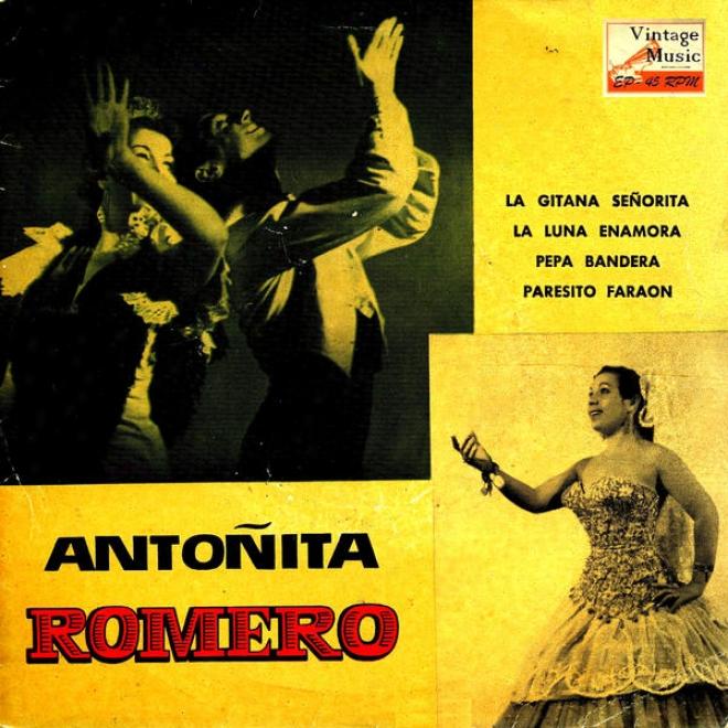 """vintage Spanish Song Nâº71 - Eps Collectors """"la Gitana Seã±orita"""" Copla Y Fiesta Gitana"""
