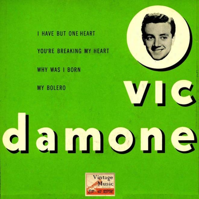 """vintage Vocal Jazz / Swing N⺠47 - Eps Collectors, """"you're Breaking My Heart"""