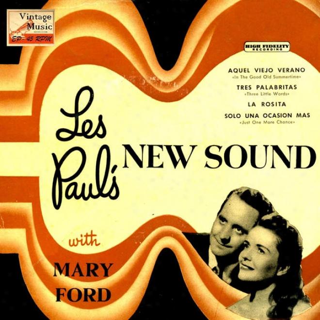 """vintage Vocal Jazz / Swing N⺠53 - Eps Collectors, """"les Paul's New Sound"""