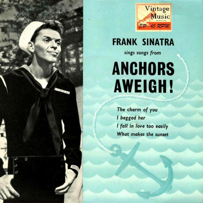 """vintage Vocal Jazz / Swing Nâº14 - Eps Collectors """"songs From Anchors Aweigh!"""