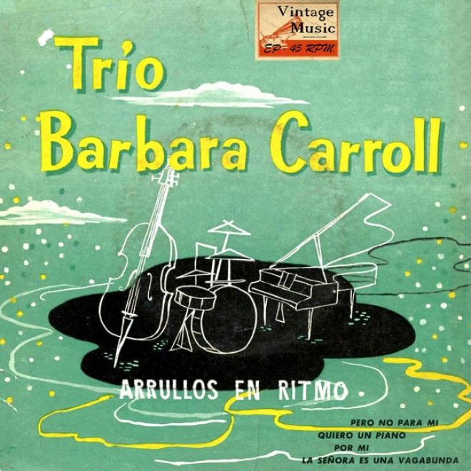 """""""vintage Vocal Jazz / Swing Nâº18 - Eps Collectors """"""""trio Barbara Carroll - Arrullos En Ritmo"""""""