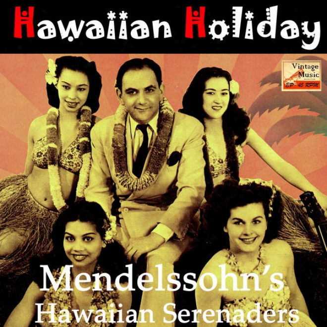 """vintage World N⺠45 - Eps Collectors """"hawaiian Festival Serenade"""" (stteel Guitar)"""