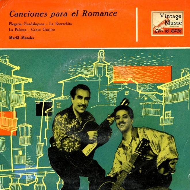 """""""vintage World Nâº13- Eps Collectors """"""""cancciones Para El Romance"""""""" Colombia"""""""