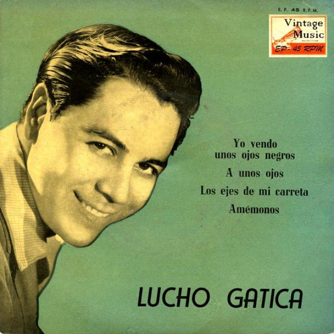 """""""vintage Public Nâº6- Eps Collectors """"""""lucho Gatica Y Las Guitarras De Humberto Campos"""""""