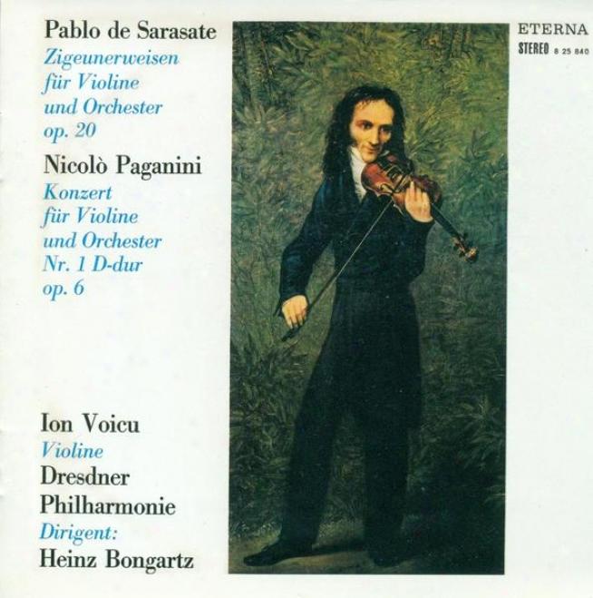 Violin Music - Paganini, N. / Sarasate, P. / Dvorak, A. / Hubay, J. (voicu, Morbitzer)