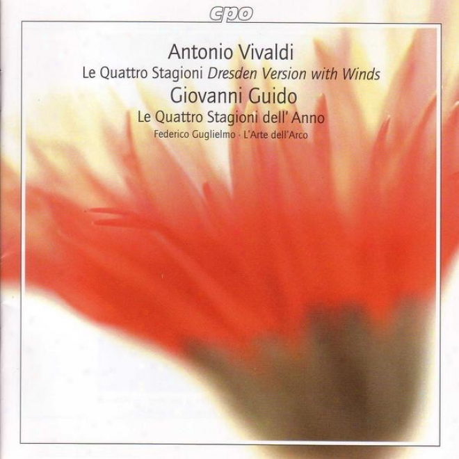 Vivaldi: 4 Seasons (the) (dresden Version With Winds) / Guido: Scherzi Armonixi, Op. 3
