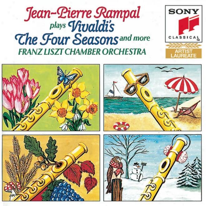 Vivaldi:  The Four Seasons, Darmstadt Concerto, Concetro Fot Flute And Organ