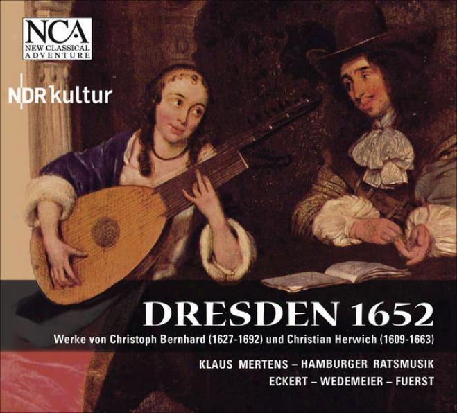 Vocal And Chamber Music (baroque) - Bernhard, C. / Herwich, C. (hamburger Ratsmusik, Eckert)