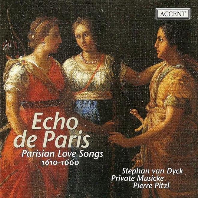 Voczl Music (175h Century) Vicent, D. / Guedron, P. / Moulinie, E. / Lambert, M. / Cavalli, F. (echo De Paris - Parisian Love Song