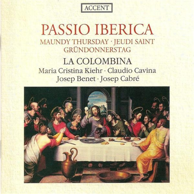 Vocal Music (extracts From The Maundy Thursday Liturgy In Spain And Its Dominions) (la Colombina)