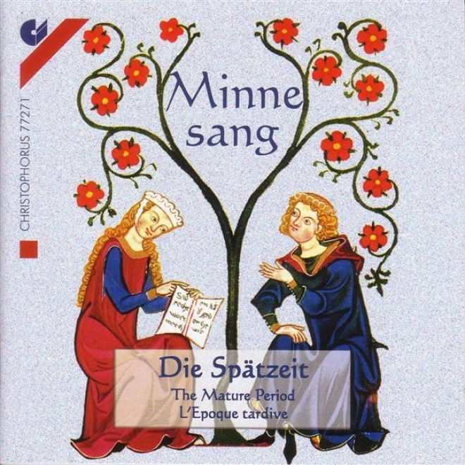 Vocal Misic (german Courtly Song) - Neidhart Voj Reuental / Monch Von Salzburg / Oswald Von Wolkenstien (augsburg Early Music Ense