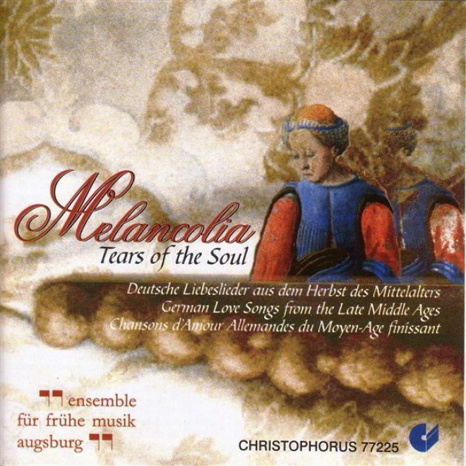 Vocal Music (german Love Songs From The Late Middle Ages) (augsburg Early Music Ensemhle)