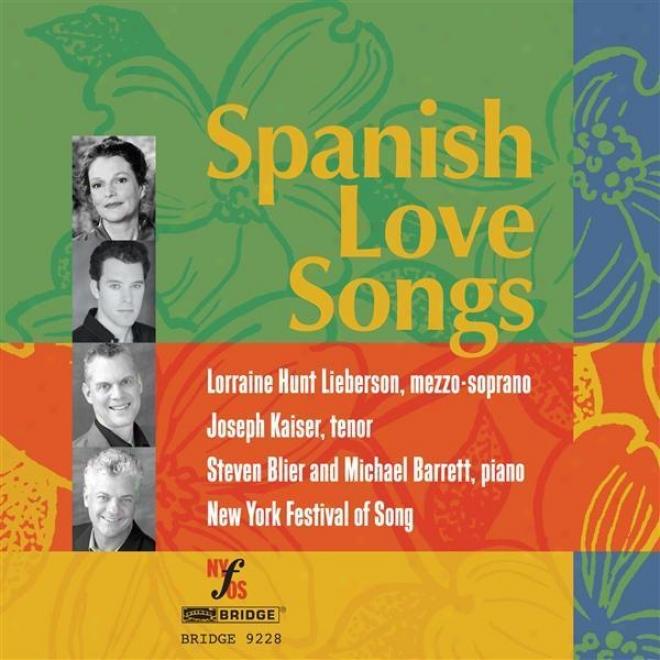 Vocal Music - Granados, E. / Lamote De Grignon, J. / Turina, J. / Rodrigo, J. / Montsalvatge, X. / Mompou, F. (spanish Love Songs)