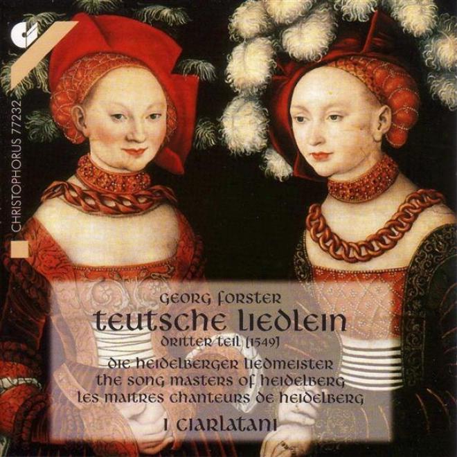 Vocal Music - Othmayr, K. / B5andt, J. / Forster, G. / Langenau, J.l. / Brandt, J. / Lemlin, L. (song Masters Of Heidelberg) (i Ci