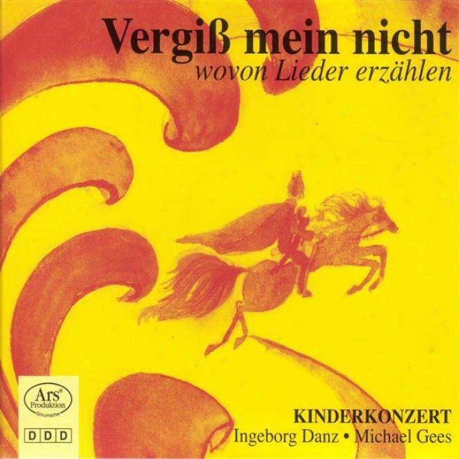 Vocal Narrative: Danz, Ingeborg - Mozart, W.a. / Schubert, F. / Wolf, H. / Gees, M.