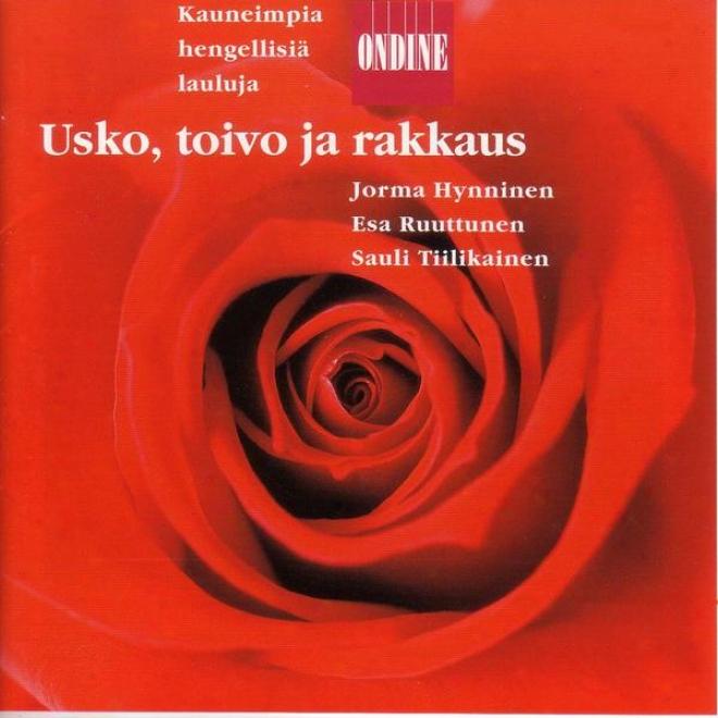 Vocal Recital: Hynninen, Jorma / Ruuttunen, Esa / Tiilikainen, Sauli - Kokkonen, J. / Dvorak, A. / Pylkkanen, T. / Tikka, K. / Pii