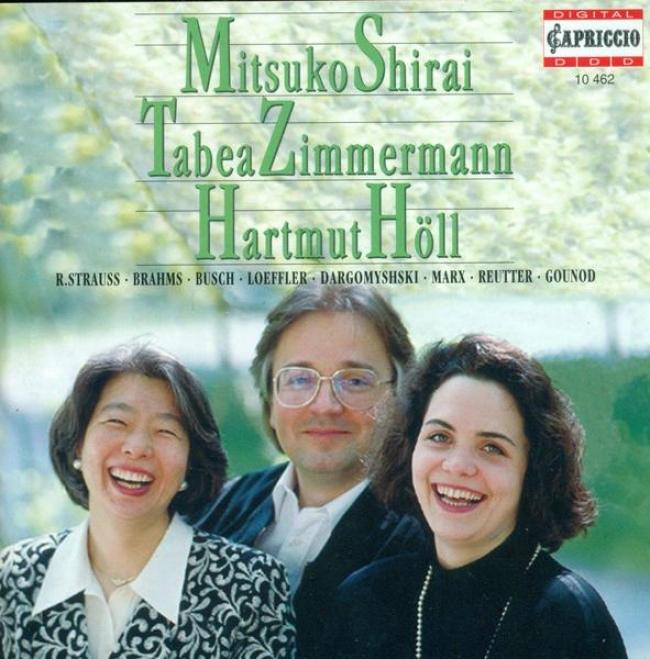 Vocal Recital: Shirai, Mitsuko - Strauss, R. / Brahms, J. / Busch, A. / Loeffler, C.m. / Dargomyzhsky, A.s. / Marx, J. / Reutter,