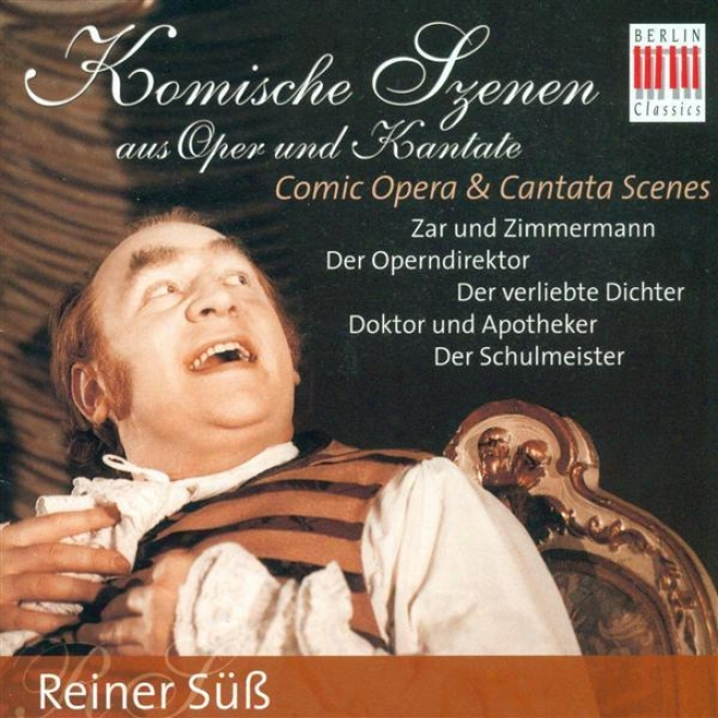 Vocal Repetition: Suss, Reiner - Lortzing, A. / Cimarosa,-D. / Hasse, J.a. / Dittersdorf, C.d. Von / Telemann, G.p (comic Opera And C