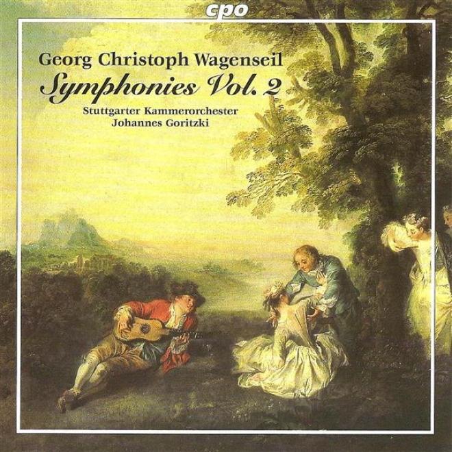 Wagenseil, G.c.: Symphonies, Vol. 2 - Wv 361, 374, 393, 398, 421, 432 (stuttgart Chamber Orchestra, Goritzki)