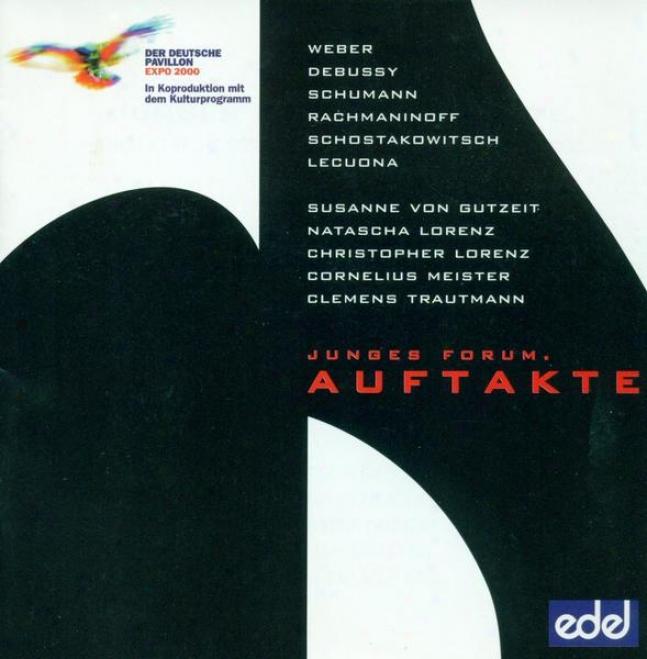 Weber, C.m. Von: Variations On A Theme From Silvana / Debussy, C.: Violin Sonata / Schumann, R.: Fantasiestucke (trautmann, Meiste