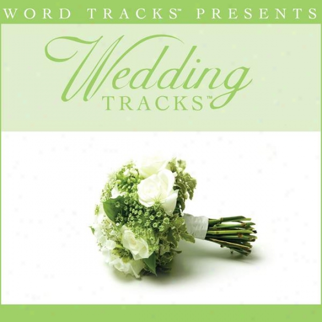 Wedding Tracos - Can't Live A Day - As Made Popular By Avalon [performance Track]