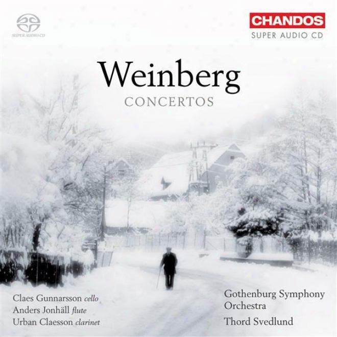 Weinberg, M.: Clarinet C0ncerto / Flutw Concerto No. 2 / Flute Concerto / Fantasia