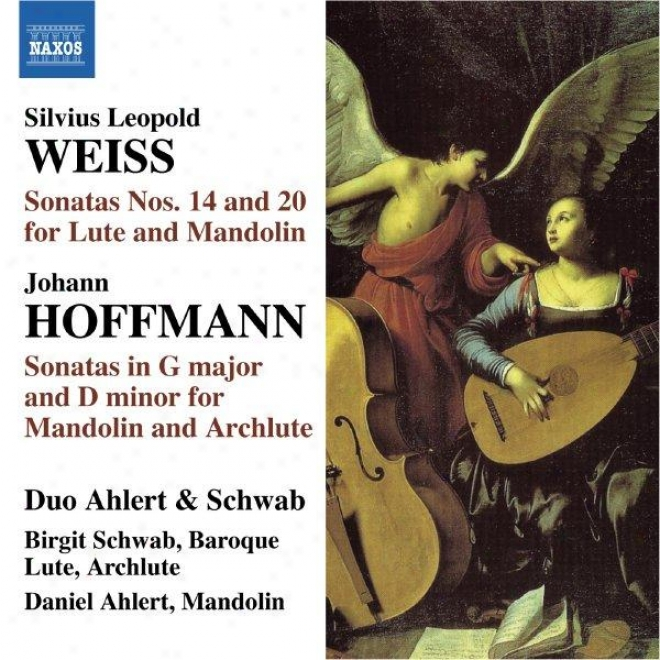 Weiss: Lute Sonatas Nos. 14 & 20 / Hoffman: Mandolin Sonata In G Major / Mandolin Sonata In D Minor