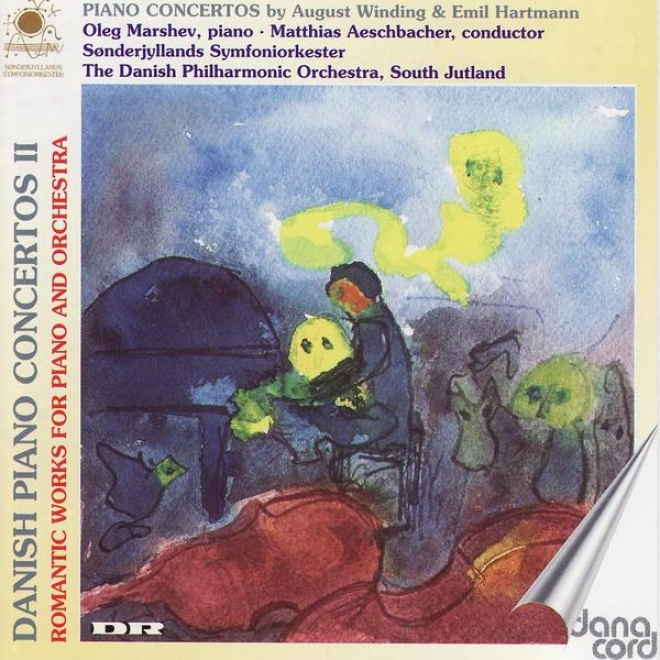 Winding / Hartmann: Danish Piano Concertos Vol 2, Romantic Works For Piano And Orchestra