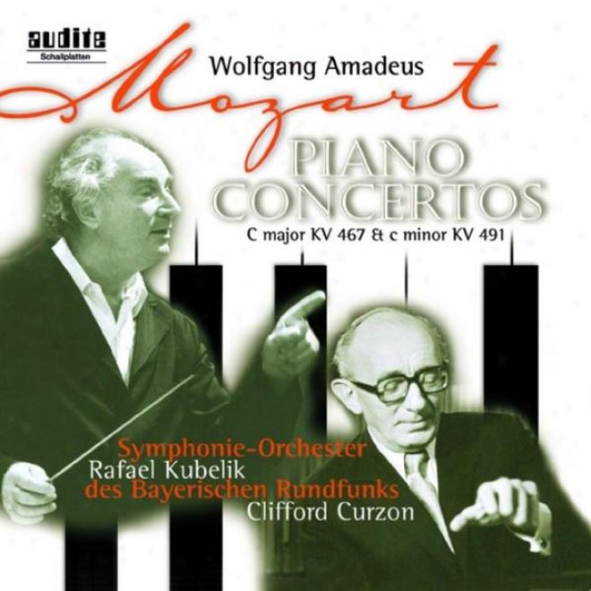 Wolfgang Amadeus Mozart: Piano Concertos No. 21 In C Major, Kv 467 & No. 24 In  CMinor, Kv 491