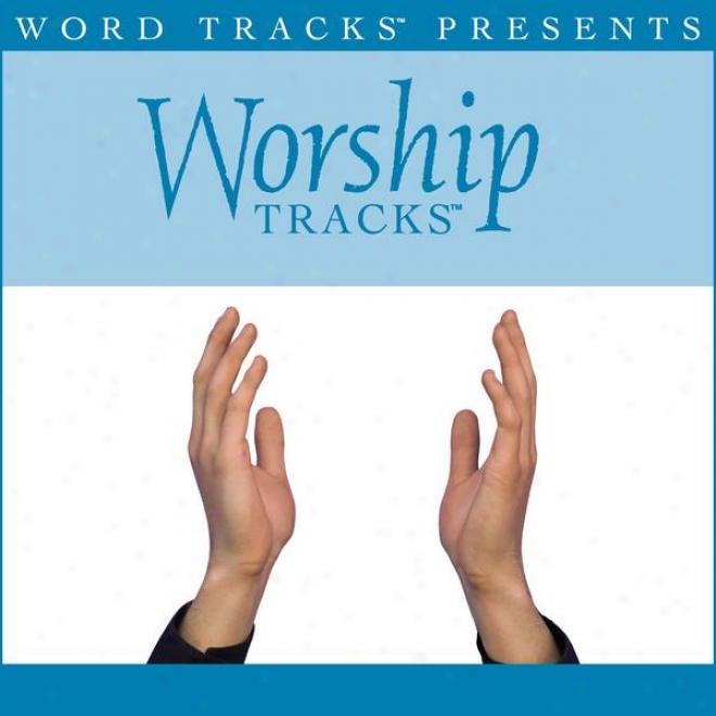 Worship Tracks - Astonishing, Merciful Sa\/ior - Because Made Popular By Selah [performance Track]