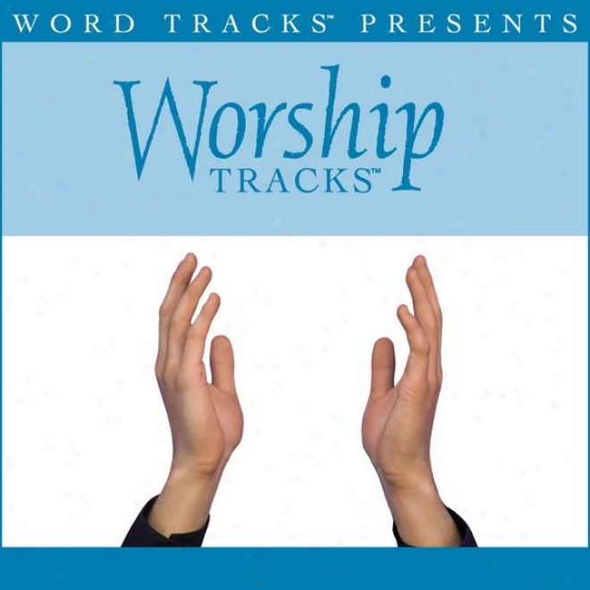 Worship Tracks - Worth Everything - As Made Popular By Pocket Full Of Rocks [performance Track]