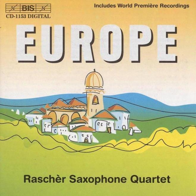 Xenakis / Penderecki / Hindemith / Norgard / Halffter: Music For Saxophone Quartet