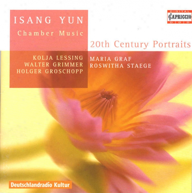Yun, I.: Chamber Music - Novelette / Piano Trio / Duo For Cello And Harp / Vioin Sonata (lessing, Grimmer, Groschopp, Graf, Staeg