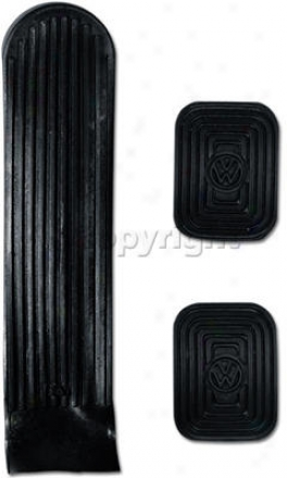 1954-1999 Vplkswagen Beetle Pedal Pad Empi Volkswagen Pedal Pad 98-1068-0 54 55 56 57 58 59 60 61 62 63 64 65 66 67 68 69 70 71 72 73 74 75 76 77 78 79 80 81 82