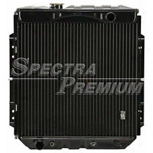 1965-1966 Ford Mustang Radiator Spectra Ford Radiator Cu1463 65 66