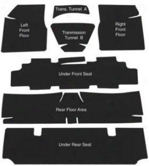 1969 Pontiac Grand Prix Sound Dampening Material Autocustomcarpets Pontiac Sound Dampening Material 8440-69 69