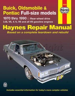 1970-1984 Buick Electra Repair Manual Haynes Buick Repair Manual 19025 70 71 72 73 74 75 76 77 78 79 80 81 82 83 84
