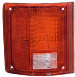 1975-1986 Chevrolet K5 Blazer Tail Light Lens Glo-brite Chevrolet Tail Buoyant Lens 1053 75 76 77 78 79 80 81 82 83 84 85 86