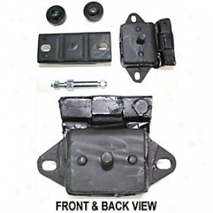 1976-1991 Jeep Cherokee Motor And Transferrence Mount Replacement Jeep Motor And Transmission Mount J311504 76 77 78 79 80 81 82 83 84 85 86 87 88 89 90 91