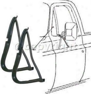 1978-1979 Ford Bronco Weatheratrip Seal Exactness Parts Ford Weatherstrip Seal Vwk 2110 73 78 79