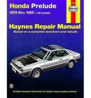 1979-1989 Honda Introduction Repair Manual Haynes Honda Repair Manual 42040 79 80 81 82 83 84 85 86 87 88 89