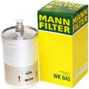 1980-1981 Mercedes Benz 280e Fuel Filter Mann-filter Mercedes Benz Fuel Filter Wk845 80 81