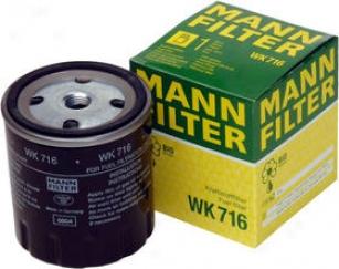 1980-1983 Mercedes Benz 240d Fuel Filter Mann-filter Mercedes Benz Fuel Filter Wk716 80 81 82 83