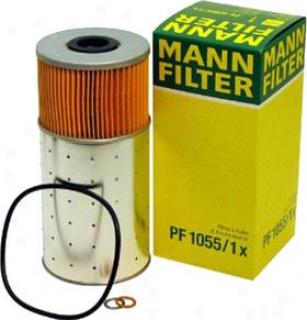1980-1983 Mercedes Benz 240d Oil Filter Mann-filter Mercedes Benz Oil Filter Pf1O55/1x 80 81 82 83