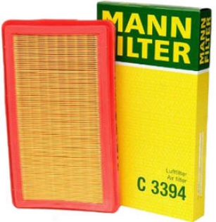 1982-1985 Bmw 528e Air Filter Mann-filter Bmw Air Filter C3394 82 83 84 85